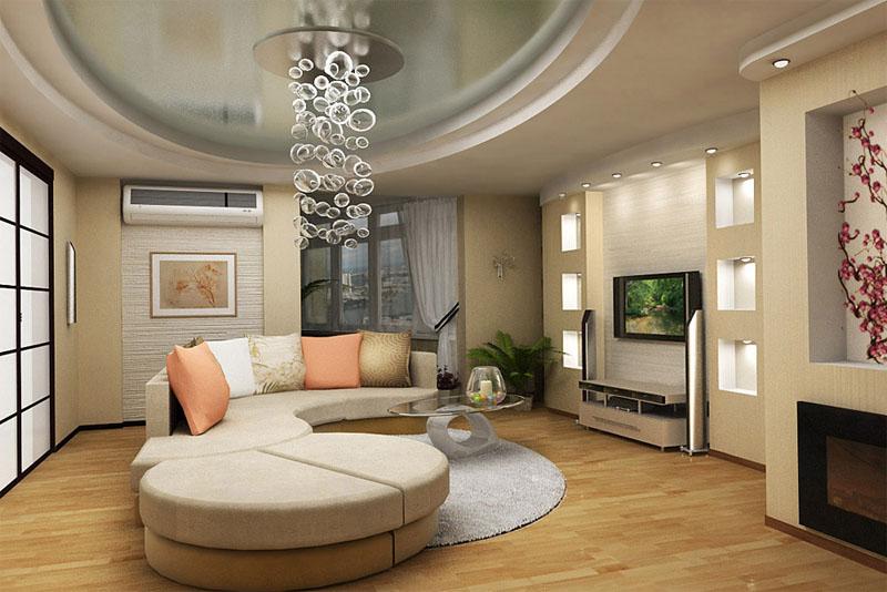 Дизайн гостиной стиль прованс фото