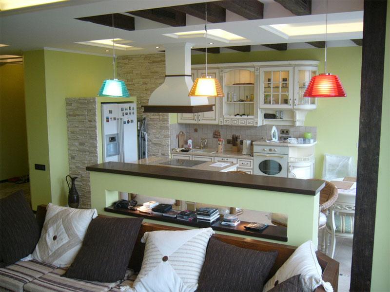 Дизайн пола кухни из плитки
