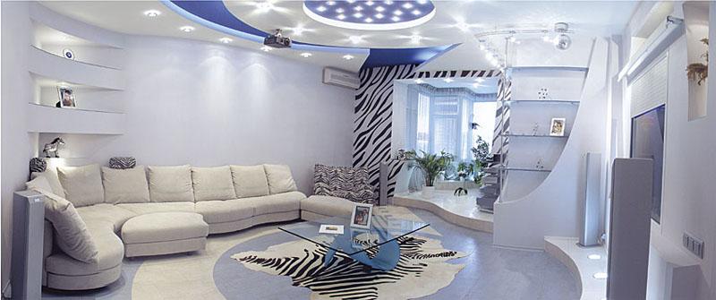 Дизайн кухни, совмещенной с балконом - 75 фото, идей
