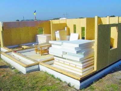 Строительство дома по канадской