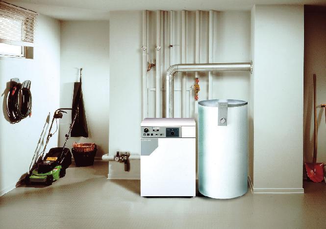 Котел в квартире (Фото: Роберт Бош и Junkers)