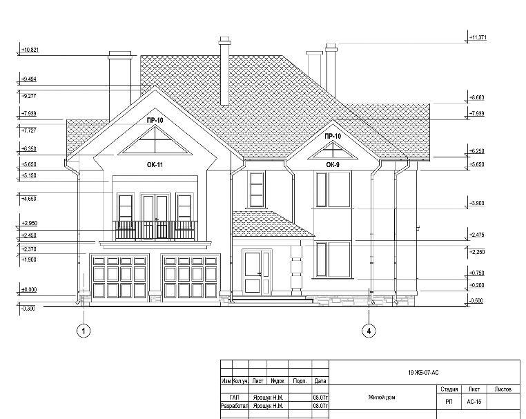 и прочие конструкции дома.