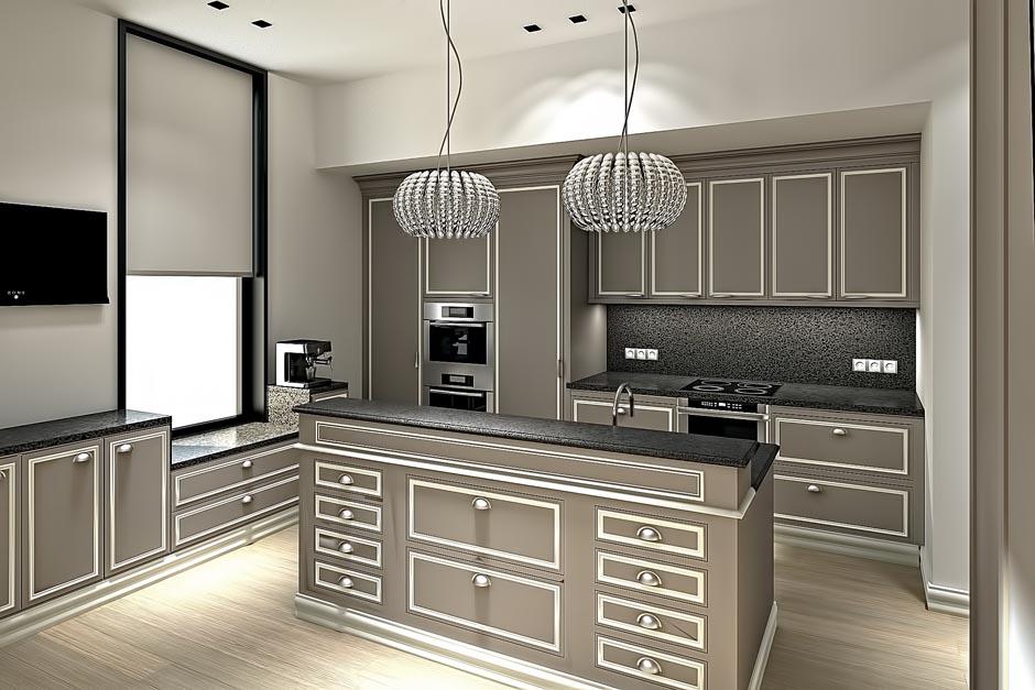 Дорогие кухни дизайн