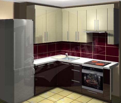 Дизайн кухни маленькой рассмотрим