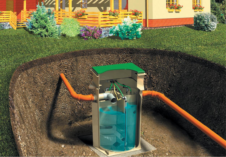 Очистка сточных вод на даче своими руками без сточной ямы 75