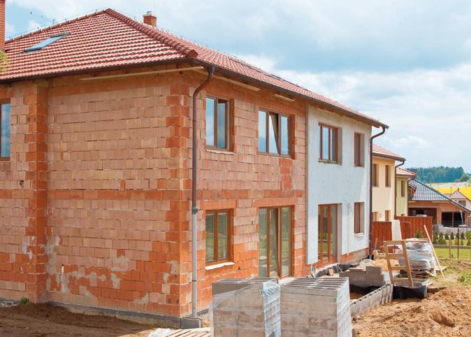 Стены домов
